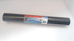 Plástico Adesivo Gekkofix Preto 45Cmx15Mt