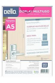 Display Multiuso A5 Dello Crista Vertical 535