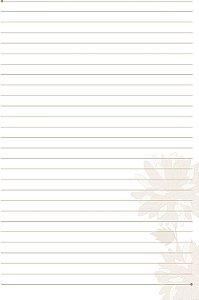 Refil Otima Caderno Belle 167 50Fls 3866-3