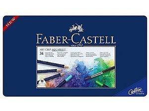 Lápis Cor 36 Cores Faber-Castell Art Grip Aquarelle 114236