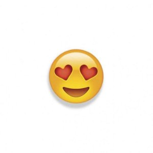 Ima Fixador de Lembretes Geguton Emoji Apaixonado