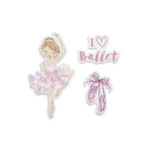 Ima Fixador de Lembretes Geguton Ballet C/3und