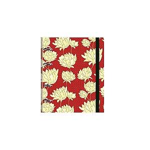 Caderno Otima Belle 158 Vermelho Argolado 160Fl 3850-2