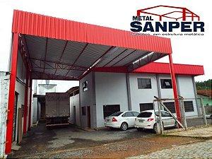 Garagem com Cobertura e Fechamento