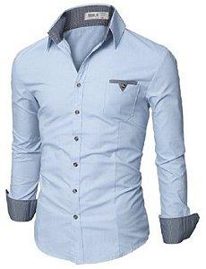 Camisa Social Slim Premium Estilo Dubai