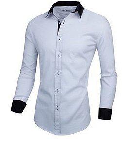Camisa Social Slim Premium Estilo Italiano