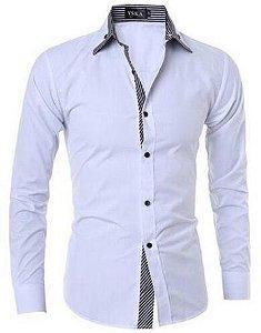 Camisa Social Premium Slim Estilo Russo