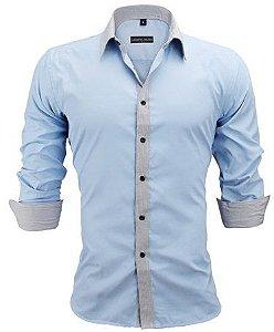 Camisa Social Slim Premium Estilo Australiano