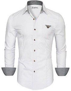 Camisa Social Slim Fit Estilo Executivo Dubai
