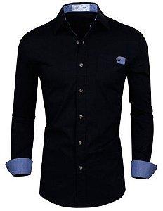 Camisa Social Premium Slim Estilo Executivo Dubai Lançamento