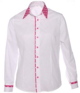 Camisa Social Feminina Slim Fit