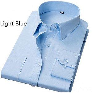 camisa polo plus size burg slim social estilo masculina premium manga d2106667e1060