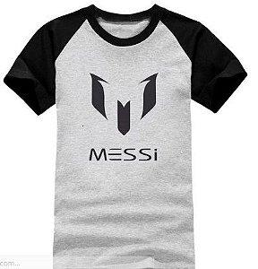 Camisa Raglan Messi Original