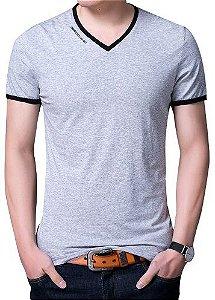 Camiseta Slim Gola V Noblemen's