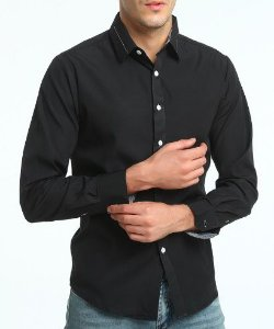 Camisa Social Estilo Oxford Slim Fit