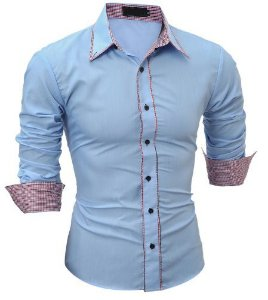 Camisa Social Slim Fit Xadrez Estilo Portland
