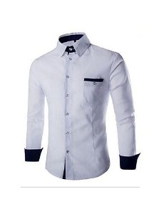 Camisa Social Slim Fit Estilo Marrócos 2
