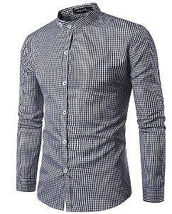 Camisa Social Slim Fit Xadrez