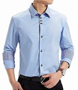 Camisa Social Slim Nova Moda