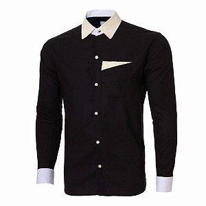 Camisa Social Slim Estilo Londres exclusividade Noblemen's