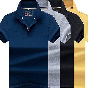 Kit 4 Camisa Polo Masculino Luxo Austrália