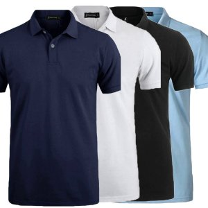 Kit 4 Camisa Polo Masculina Estilo New York