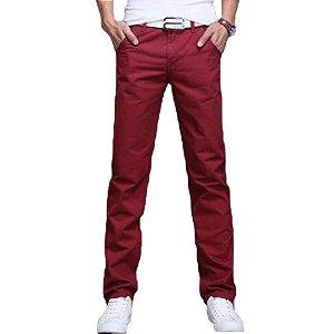 Calca Jeans Sarja Slim Fit  Estilo Basic Noblemen's
