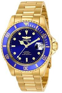 Relógio Invicta Pro Diver 8930OB Banhado Ouro 18k