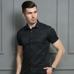 Kit 3 Camisa Manga Curta Slim Estilo