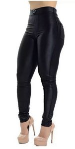 Calça Disco Feminina Hot Pants Legging Cirre