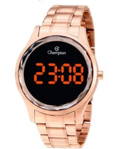 Relógio Champions Digital CH48019J Original