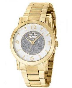 Relógio Champions Analógico Dourado CN25136S Original