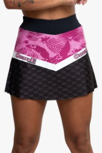 saia short pink evening