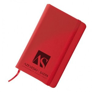 Caderneta Personalizada tipo Moleskine