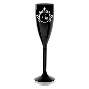 Taça de Champanhe Personalizada 190ml - Lembrancinha Madrinha Casamento