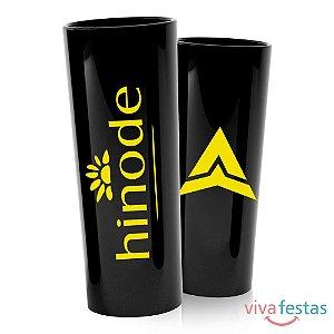 Copo Long Drink Personalizado em Serigrafia com 350ml - Cor Preto