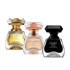 Combo Elysée Eau de Parfum Feminino 50ml Leve 3 e Pague 2
