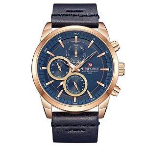 Relógio Masculino Moda Esportiva Naviforce NF9148SW