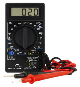 Multimetro Digital Multiuso para Medições Elétricas Multilaser - AU325
