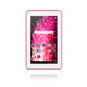 "M7s Quad Core Tablet Wi-fi - 7"" Rosa Multilaser - NB186"