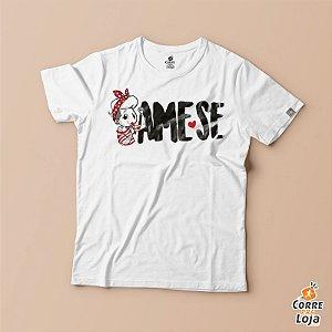 T-Shirt BRANCA-Ame-se