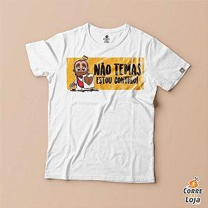 T-Shirt BRANCA-cancer