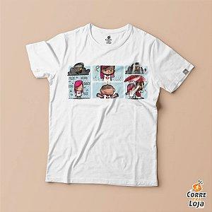T-Shirt BRANCA-Cobertor de Amor