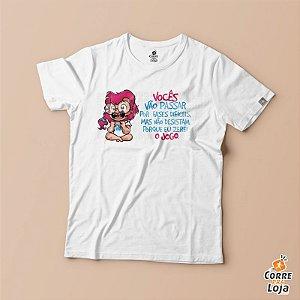 T-Shirt BRANCA-Eu Venci