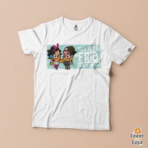 T-Shirt BRANCA-Namorada e Eu