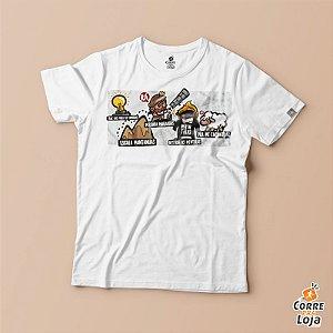 T-Shirt BRANCA-Ousado Amor