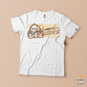 T-Shirt BRANCA-Pai Tatuado
