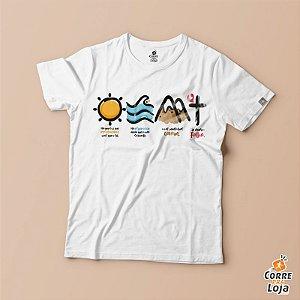 T-Shirt BRANCA-Resplandece
