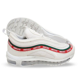 179825a9551 Tênis Masculino Nike Air Max 97 Undefeated Branco e Vermelho