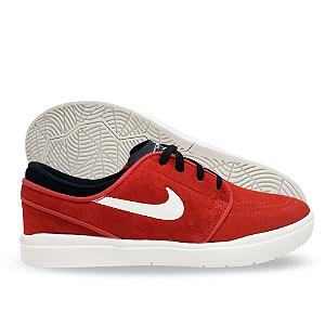 141cb633607 Tênis Masculino Nike Sb Stefan Janoski Hyperfeel Vermelho e Branco